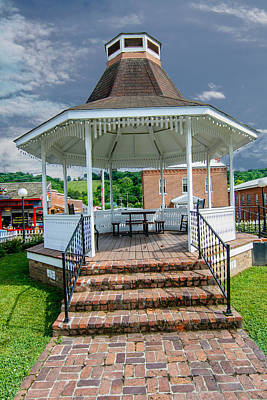 Photograph - Gazebo by Robert Hebert