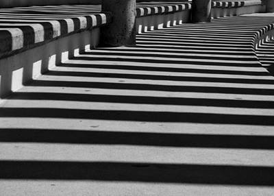 Photograph - Pavilion Shadow Stripes by Kirsten Giving