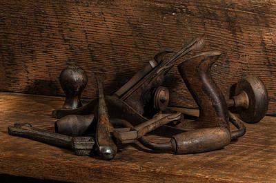 Paw Paw's Tools Art Print