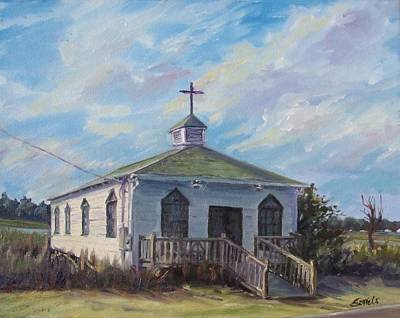 Painting - Pawleys Chapel by Sharon Sorrels
