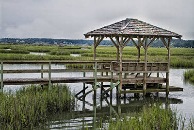 Pawleys Creek Dock Art Print