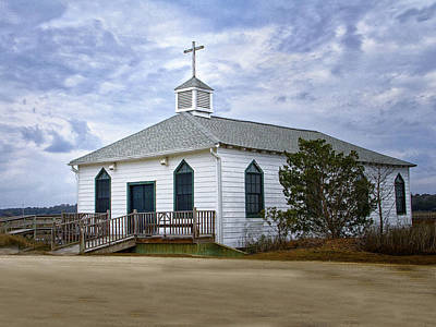 Photograph - Pawleys Island Chapel by Sandra Anderson
