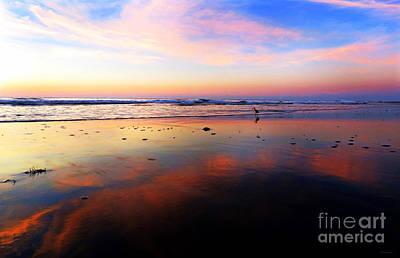 Photograph - Pawleys Sunrise Reflection by Deborah Smith