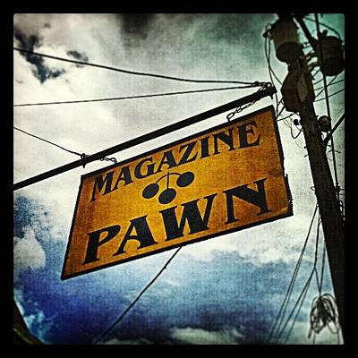 New Orleans Photograph - Pawn Shop New Orleans by Glen Abbott