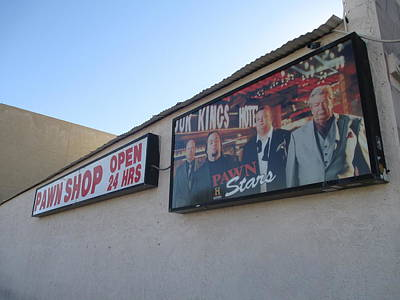 Pawn Stars Art Print by Kay Novy