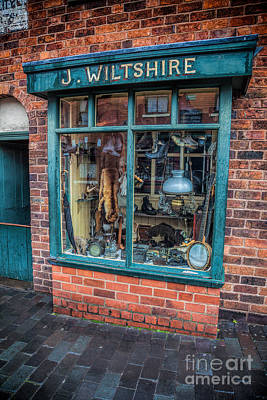 Sell Digital Art - Pawnbrokers Shop by Adrian Evans