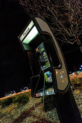 Photograph - Pay Phone by Sennie Pierson