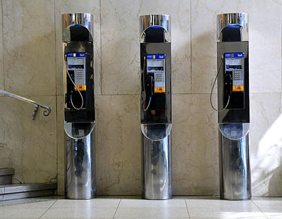 Photograph - Pay Phones 2 by Andrew Fare