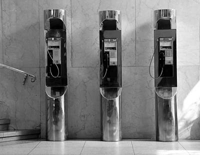 Photograph - Pay Phones 2b by Andrew Fare