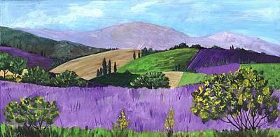 Painting - Pays De Sault by Anastasiya Malakhova