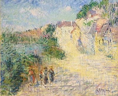 Paysage De Dordogne Art Print by Celestial Images