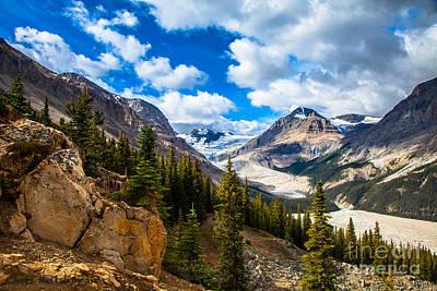 Photograph - Payto Lake Glacier  by Chris Heitstuman