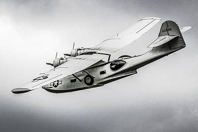 Pby-5a Sub Hunter Art Print