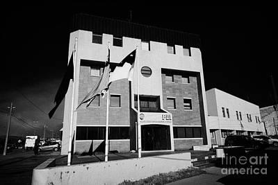 Pdi Policia De Investigaciones De Chile Offices Punta Arenas Chile Art Print by Joe Fox