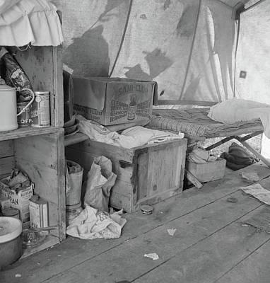 Pea Picker's Camp, 1939 Art Print by Granger