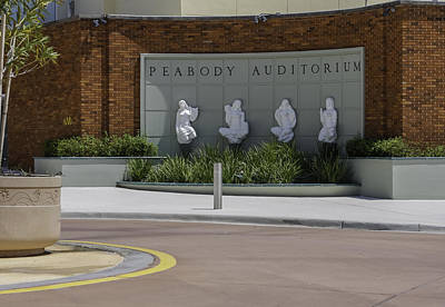 Photograph - Peabody Auditorium In Daytona by Karen Stephenson