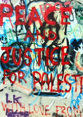 Photograph - Peace And Justice by Munir Alawi