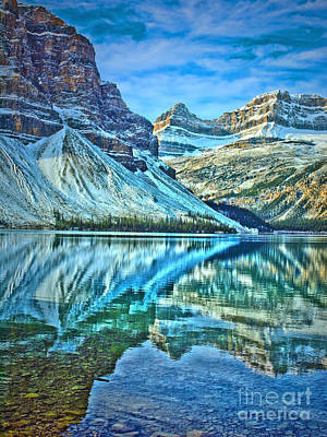 Photograph - Peace At Bow Lake by Tara Turner