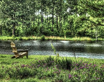 Photograph - Peace At The Pond by EG Kight
