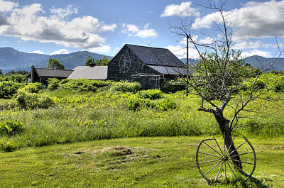 Meadows Photograph - Peace Barn by Donna Doherty