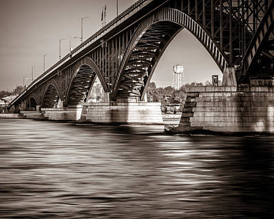 Peace Bridge Art Print