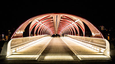 Photograph - Peace Bridge by Darren Langlois