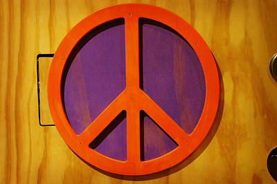 Art Print featuring the photograph Peace Decal by Artistic Panda