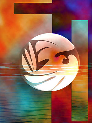 Digital Art - Peace Dove by Bruce Manaka