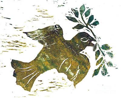 Peace Dove Art Print by Ellen Miffitt