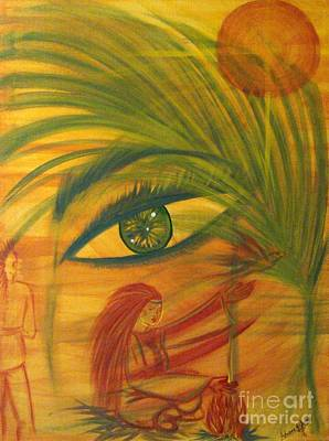 Painting - Peace Flees War by Adriana Garces