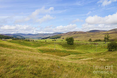Photograph - Peace In Glen Clova by Diane Macdonald