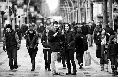 Photograph - Peace In Paris by John Rizzuto