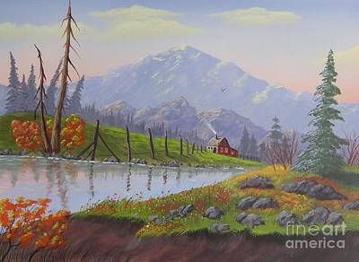 Painting - Peace In The Valley by Bob Williams