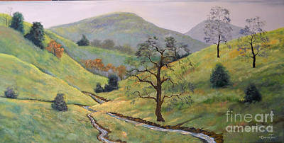 Painting - Peace In The Valley by Connie Tom
