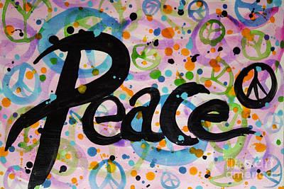 Peace Art Print by Jacqueline Athmann