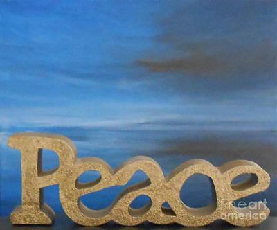 Peace - Jane See Art Print