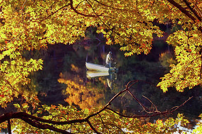 Fall Scenes Photograph - Peace by Joann Vitali