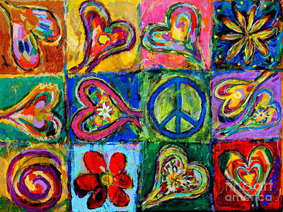 Peace Art Print by Kelly Athena