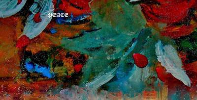 Art Print featuring the painting Peace by Lisa Kaiser