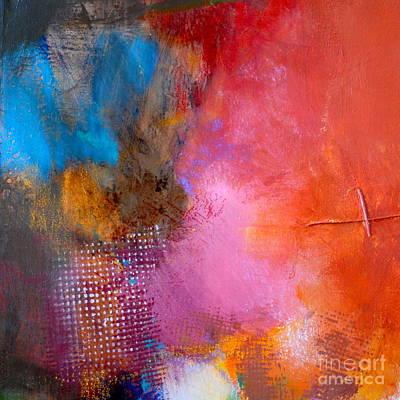 Streetlight Mixed Media - Peace by Lisa Schafer