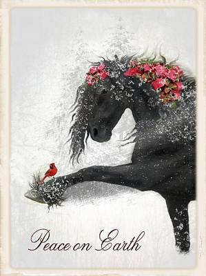 Animals Digital Art - Peace On Earth by Fran J Scott