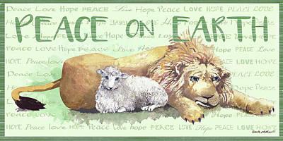 Peace On Earth II Art Print