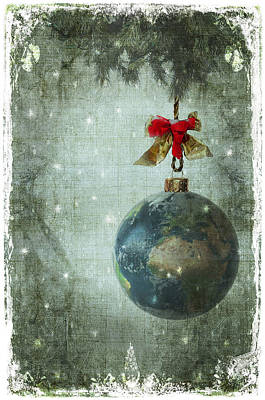 Peace On Earth Art Print by Marie  Gale