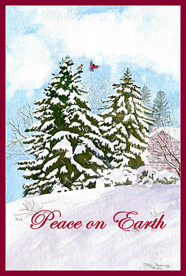 Painting - Peace On Earth by Melly Terpening