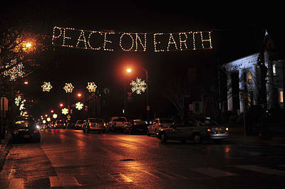 Peace On Earth Photograph - Peace On Earth by Terry DeLuco