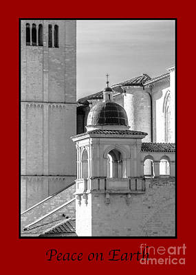 Photograph - Peace On Earth With Basilica Details by Prints of Italy