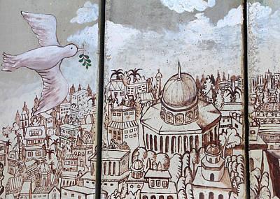Photograph - Peace On Jerusalem by Munir Alawi