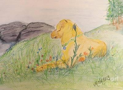 Peace On The Mountainside Art Print