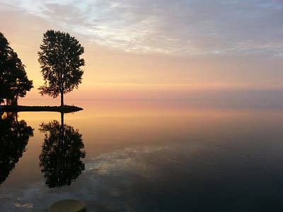 Photograph - Peace On The Water by Jack G  Brauer