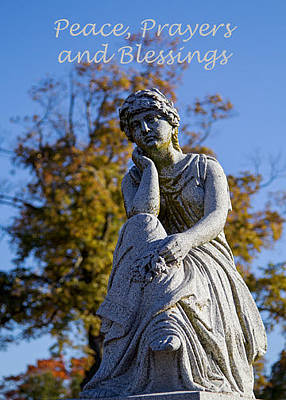 Photograph - Peace Prayers And Blessings by Deb Buchanan